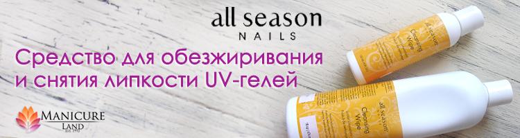 Обезжириватель All Season Nails