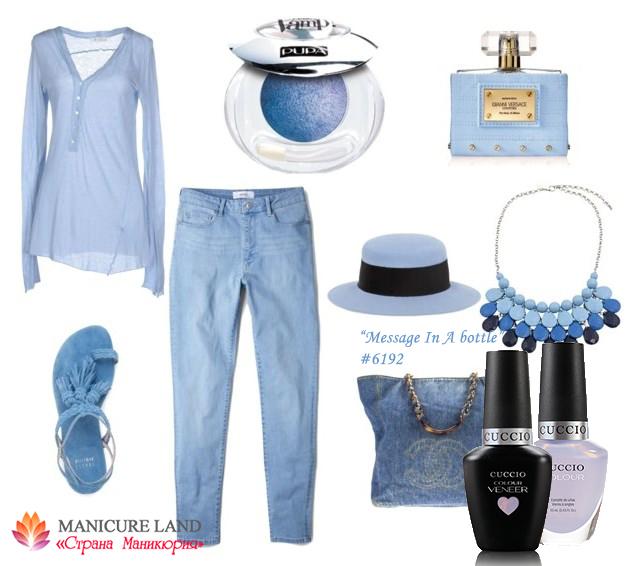 Серо-лавандовый гель-лак и лак, модные цвета весна-лето 2016